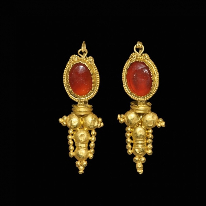 Antike romische ohrringe