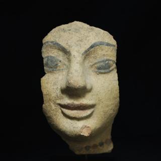 Etruskisches Antefix Fragment