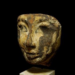 Sarcophagus mask Schuetz left