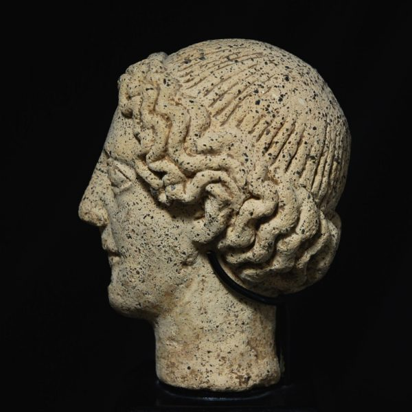 Etruscan Head of a Youth side