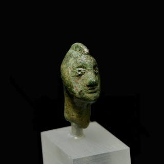 Head of a Celtic warrior