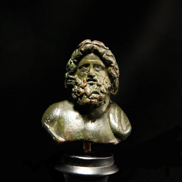 Bronze Zeus
