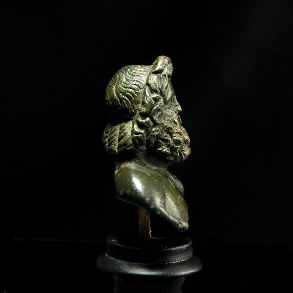Bronze Zeus side
