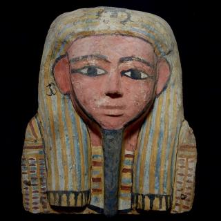 Large sarcophagus mask