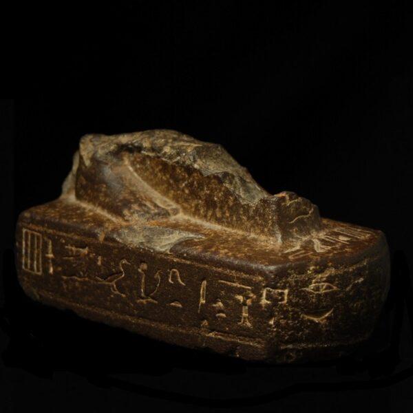 Fragment of a Basalt Statue