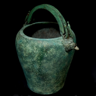 Greek Bronze Situla right