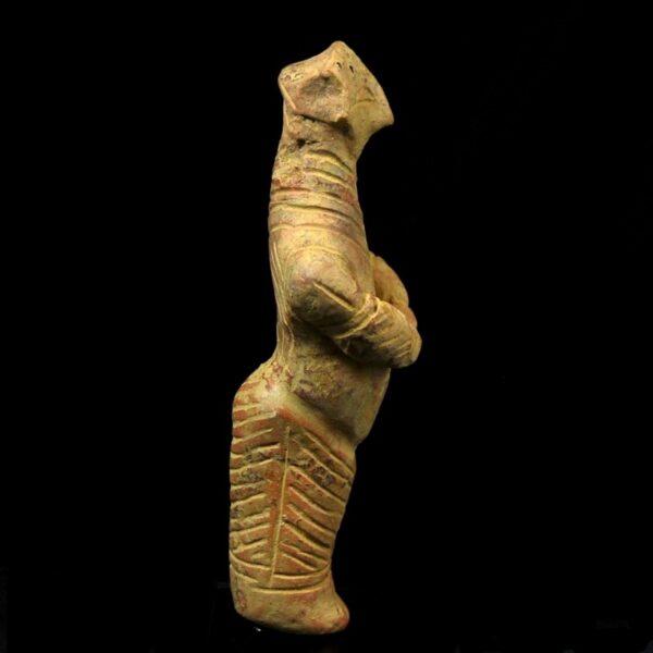 Vinca Idol of a Pregnant Woman Side