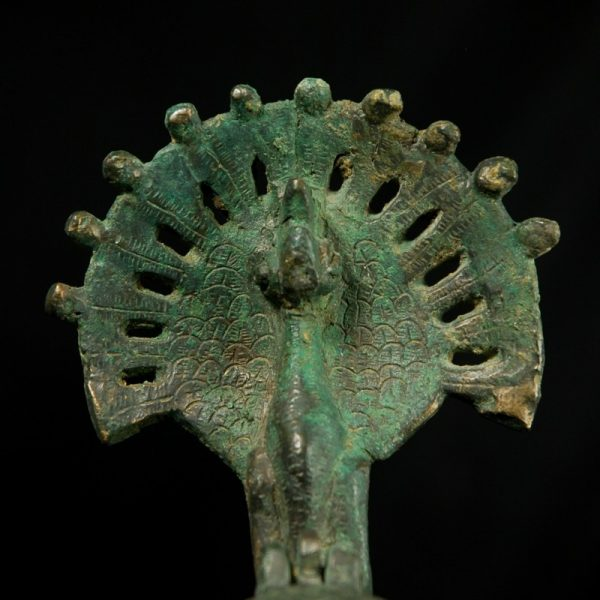 Oil Lamp with Candelabra Detail