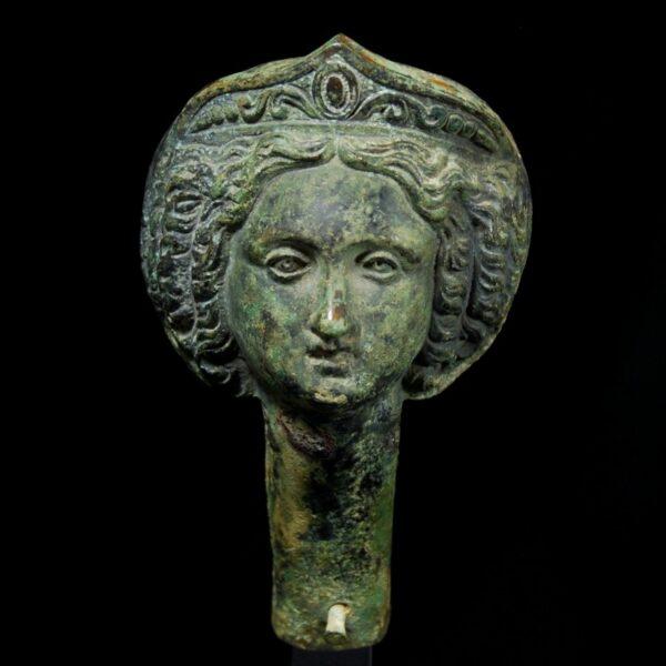 Bronze Goddess side