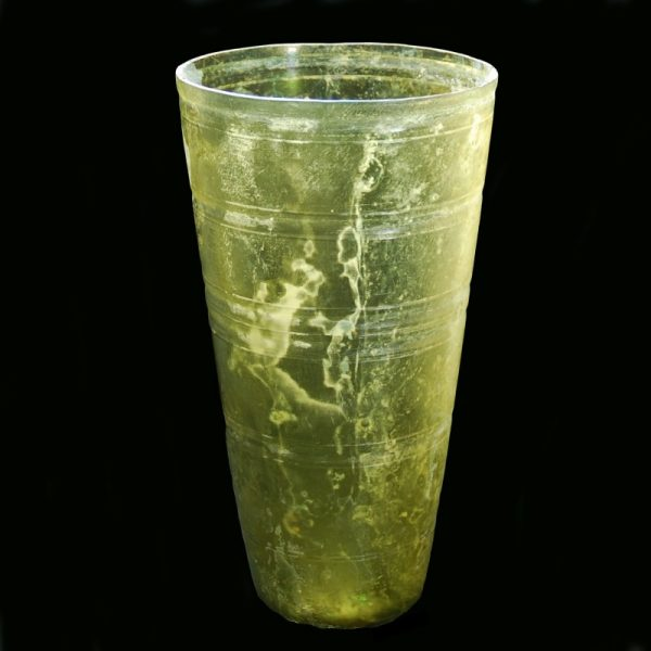 Monumental Hellenistic Glass Beaker