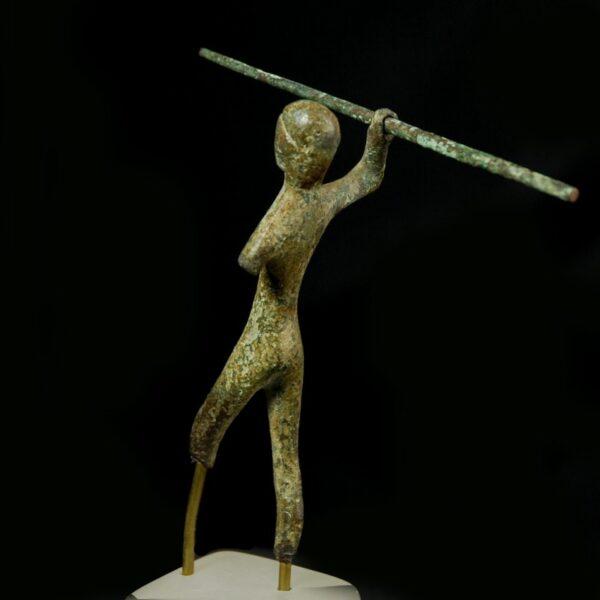 Etruscan Bronze Warrior back