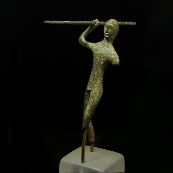Etruscan Bronze Warrior front