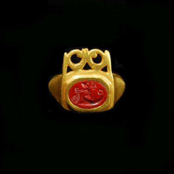 Massive Gold Key Ring