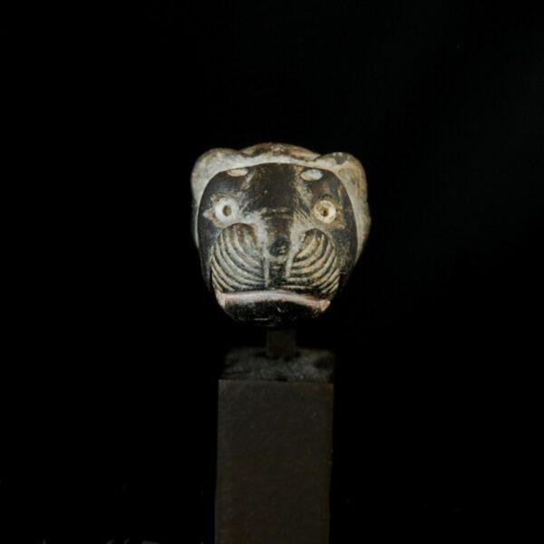 Sumerian Steatite Lionhead