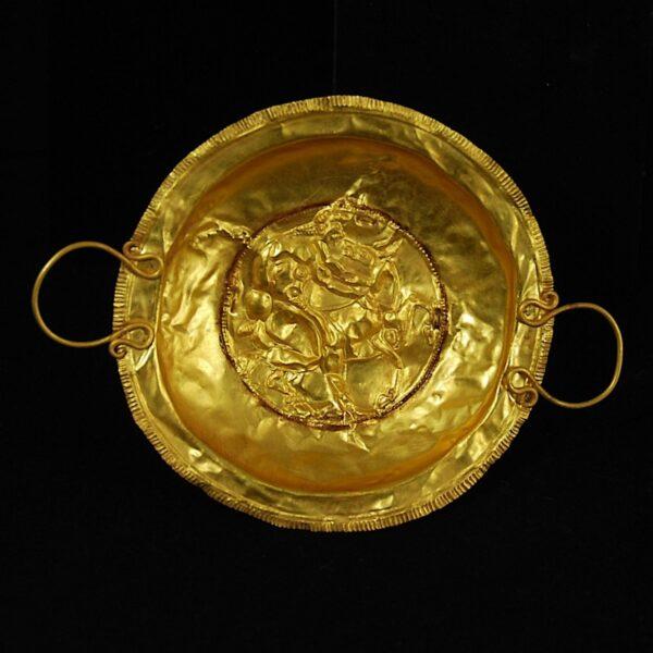 Etruscan Gold Bowl