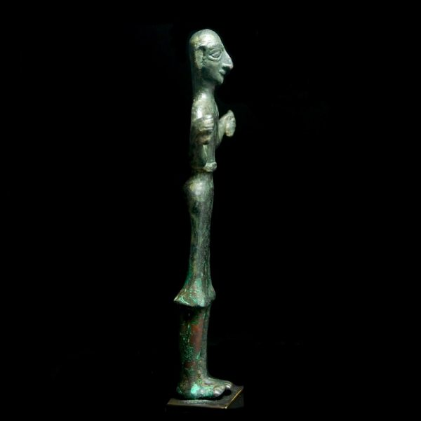 Elamite Statuette of a Worshipper Side