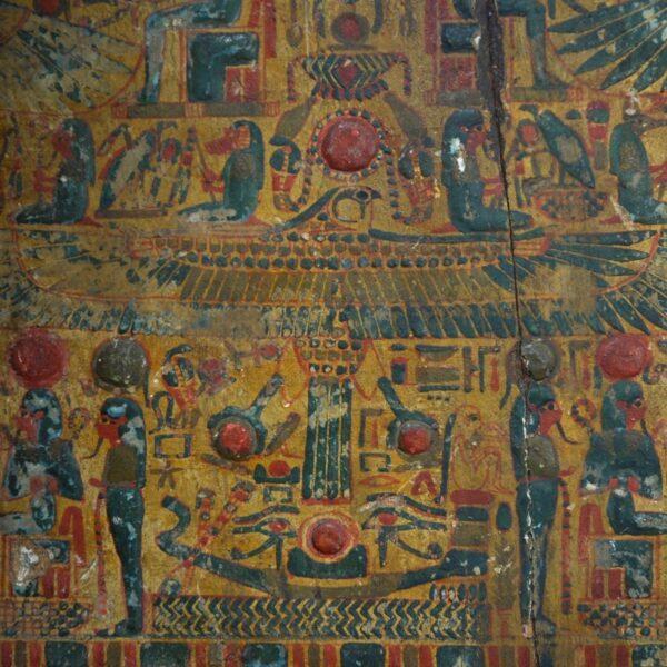Sarcophagus Panel XXI Dynasty Detail