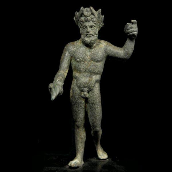 Bronze Statuette of Jupiter