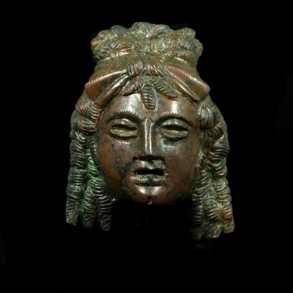 Bronze Theater Mask