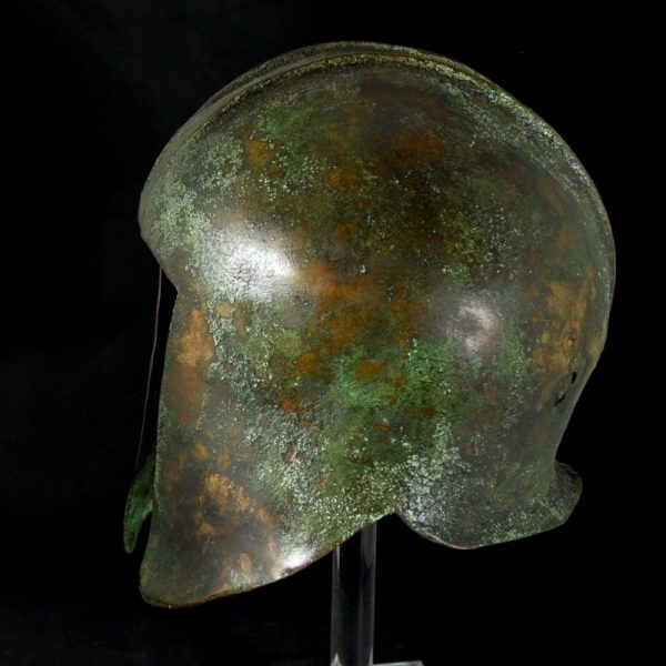 Illyrian Bronze Helmet side