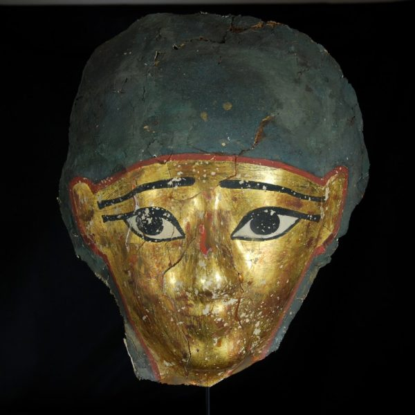 Egyptian Gilded Mummy Mask