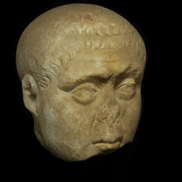 Monumental Marble Head of a Noble