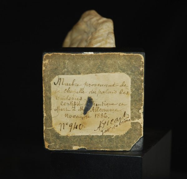 MarbleHeadofaBeardedGod Label