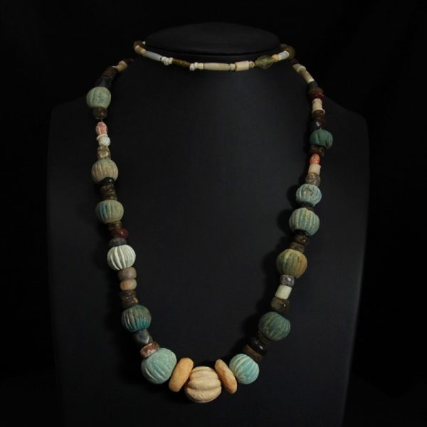 Necklace with Melon Beads