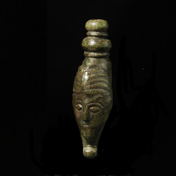Celtic Bronze Head