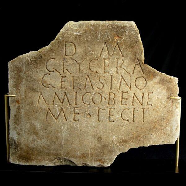 Epigraph of Glycera