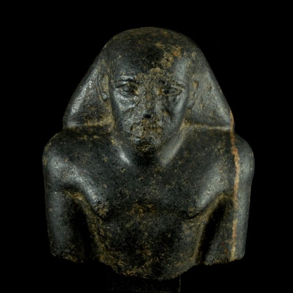 Diorite Bust of a Dignitary