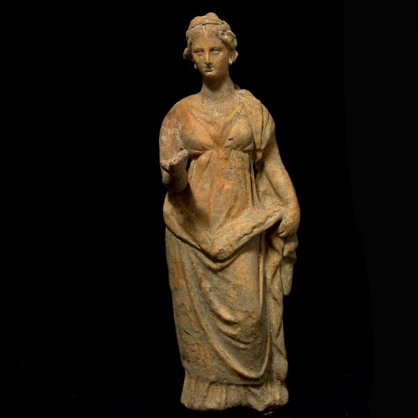 Hellenistic Terracotta Statuette from Tarentum