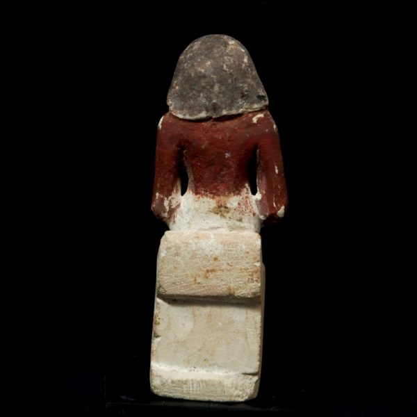 Egyptian Limestone Figure back