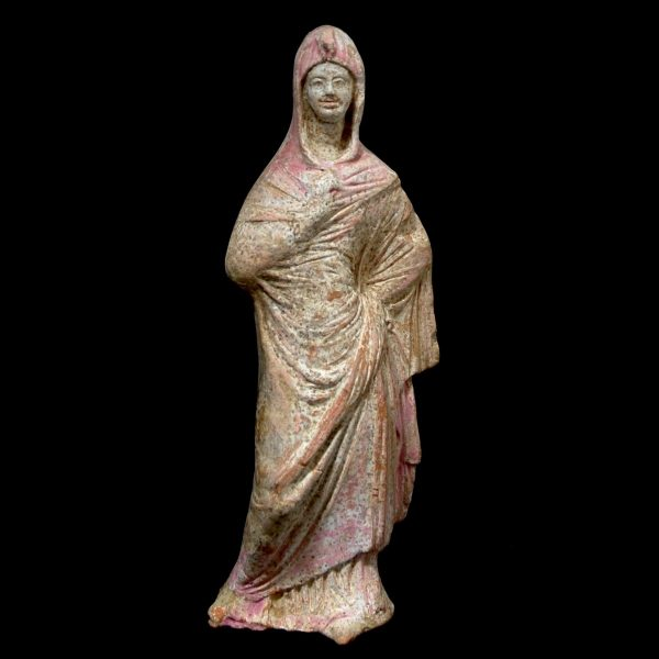 Hellenistic Terracotta Statuette from Canosa