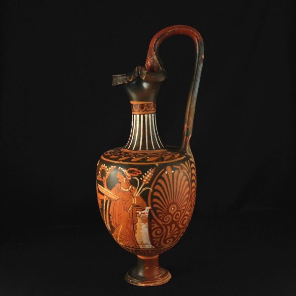 Ganymed Painter Oenochoe side
