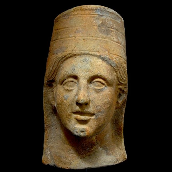 Votive Head of Demeter