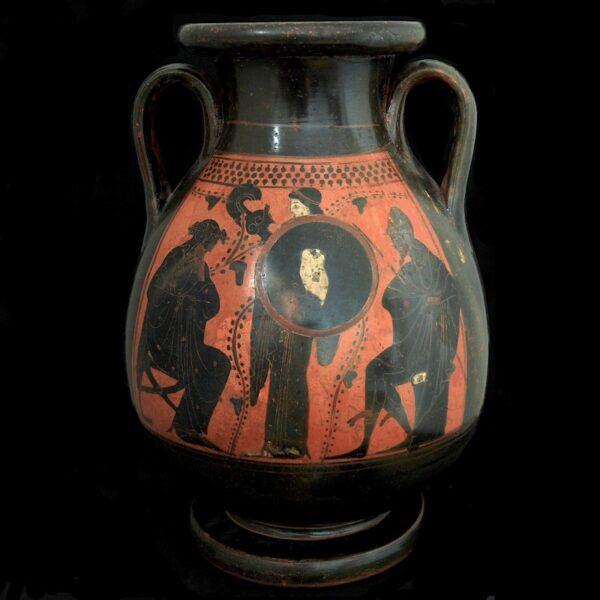 Attic Pelike Athena