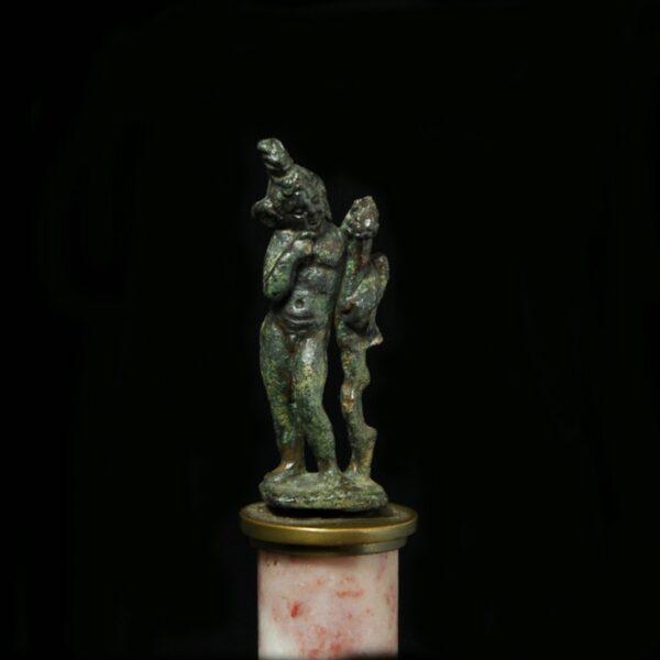 Bronze Harpocrates