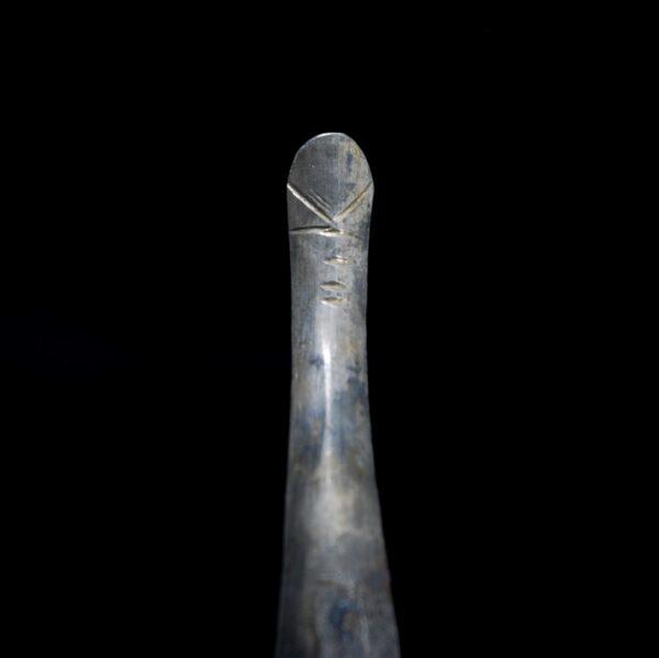 Silver Strigil Detail
