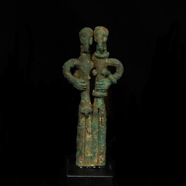 Amlash Bronze Couple
