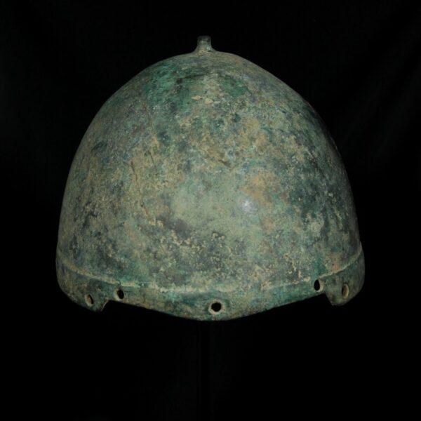 Scythian Bronze Helmet back
