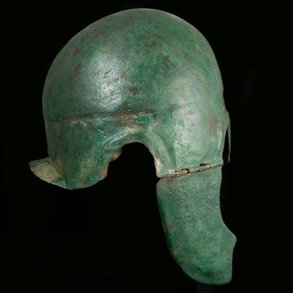Chalcidian Bronze Helmet Side