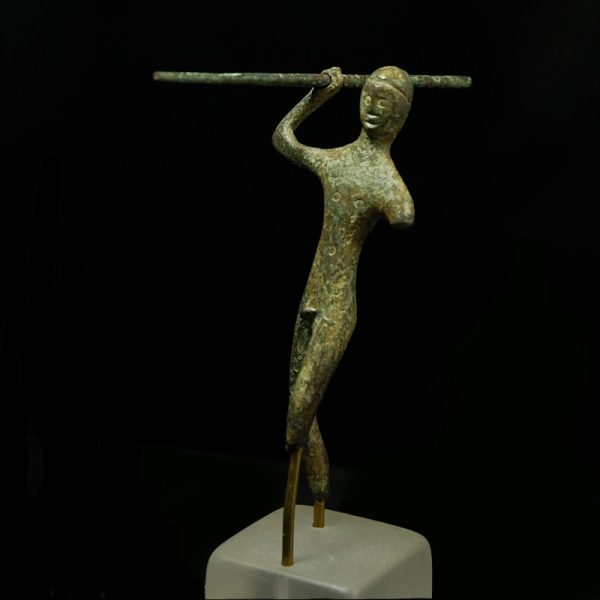Etruscan Bronze Warrior front