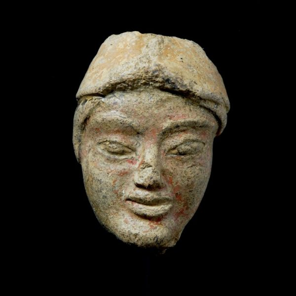Etruscan Head of a Warrior