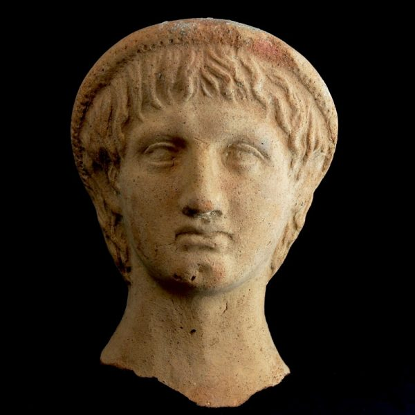 Etruscan Votive Head of a Young Man
