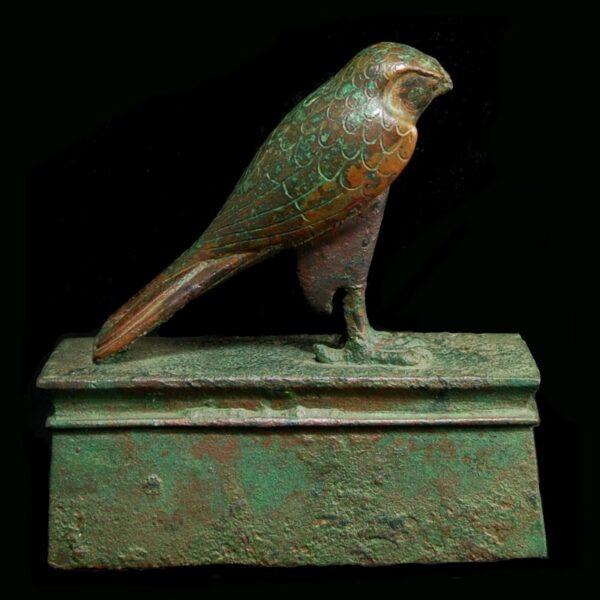 Bronze Falcon Sarcophagus