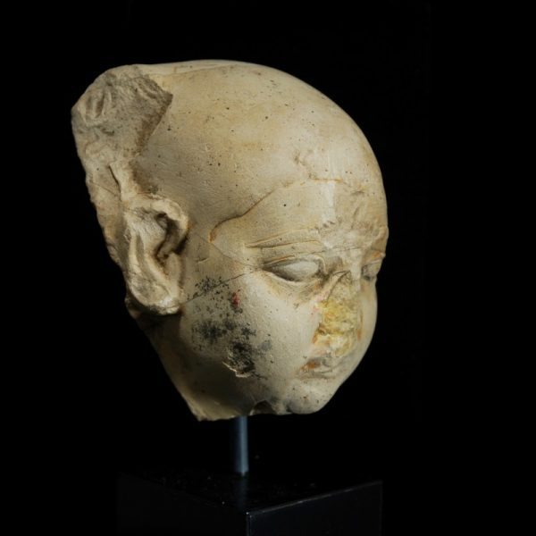 Limestone Head of Harpocrates Side