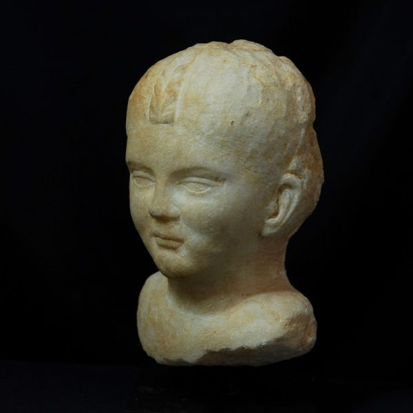 Marble Portrait of a Girl left