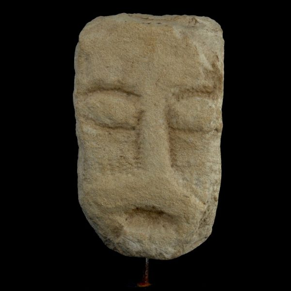 Celtic Limestone Head