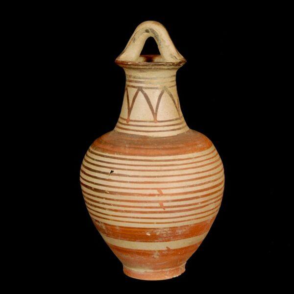Etruscan-Corinthian Bail Amphora